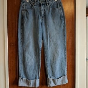Size 8 Lee Cropped Jeans
